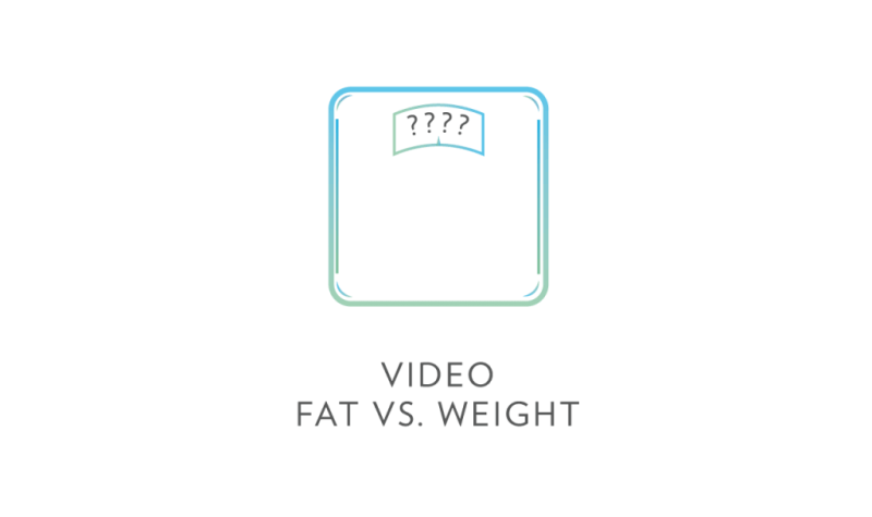 fat vs. weight